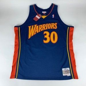 Steph Curry GS Warriors Mitchell & Ness Jersey